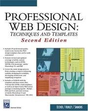 Cover of: Professional Web Design | Clint Eccher