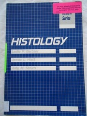 Cover of: Histology