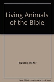 Living animals of the Bible