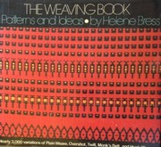 Cover of: The weaving book | Helene Bress