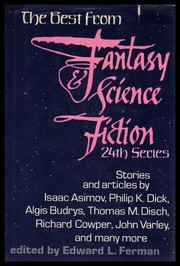 Cover of: The Best from Fantasy & science fiction, 24th series |
