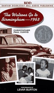 Cover of: The Watsons Go to Birmingham -1963