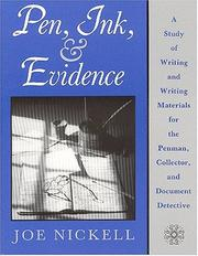 Cover of: Pen, ink, & evidence