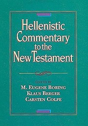 Cover of: Hellenistic commentary to the New Testament