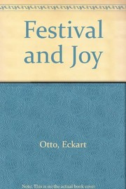 Cover of: Festival and joy | Eckart Otto