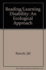 Cover of: Reading/learning disability