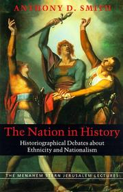 Cover of: The Nation in History