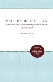 Cover of: Prophets of rebellion