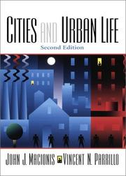 Cover of: Cities and Urban Life (2nd Edition) | John J. Macionis