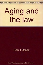 Cover of: Aging and the law