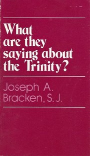 Cover of: What are they saying about the Trinity? | Joseph A. Bracken