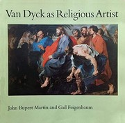 Cover of: Van Dyck as religious artist