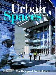 Cover of: Urban Spaces, Vol. 3