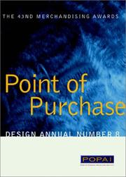 Cover of: Point of Purchase Design Annual Number 8 | Point of Purchase Advertising Institute (POPAI)