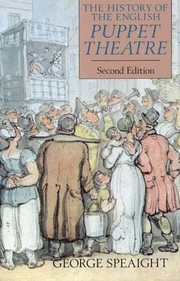 Cover of: The history of the English puppet theatre