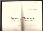 Cover of: Flannery O