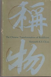 Cover of: The Chinese transformation of Buddhism | Kenneth Kuan Sheng Ch