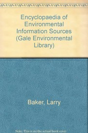 Cover of: Encyclopedia of environmental information sources |