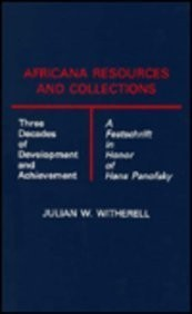 Cover of: Africana resources and collections