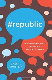 Cover of: #Republic: Divided Democracy in the Age of Social Media
