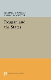Cover of: Reagan and the States (Princeton Legacy Library)