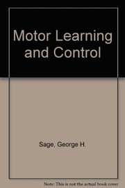 Cover of: Motor learning and control