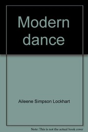 Cover of: Modern dance