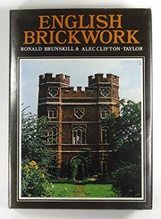 Cover of: English brickwork | R. W. Brunskill