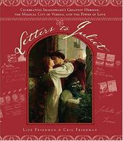 Cover of: Letters to Juliet | Lise Friedman