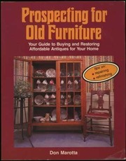 Cover of: Prospecting for old furniture | Don Marotta