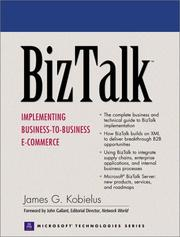 Cover of: BizTalk: Implementing Business-to-Business E-commerce