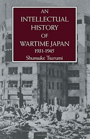 Cover of: An intellectual history of wartime Japan, 1931-1945