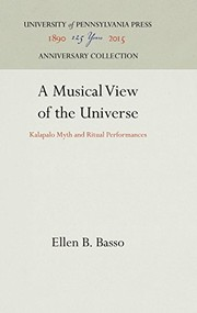 Cover of: A musical view of the Universe