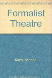 Cover of: A formalist theatre