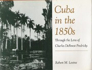 Cover of: Cuba in the 1850s