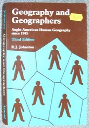 Cover of: Geography and geographers | R. J. Johnston