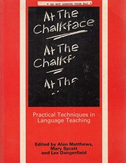 Cover of: At the chalkface |