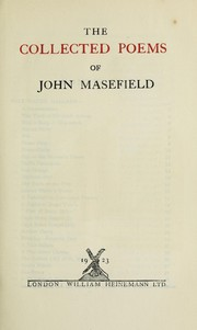 Cover of: The collected poems of John Masefield | John Masefield