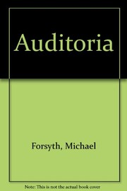 Cover of: Auditoria | Forsyth, Michael