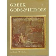 Cover of: Greek gods and heroes | Ann Birchall