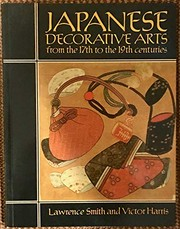 Cover of: Japanese decorative arts from the 17th to the 19th centuries