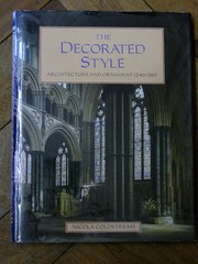 Cover of: The decorated style | Nicola Coldstream