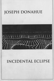 Cover of: Incidental eclipse