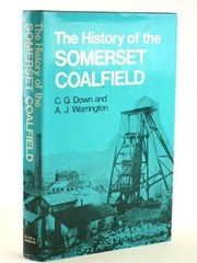 Cover of: The history of the Somerset coalfield | C. G. Down