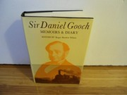 Cover of: Memoirs & diary | Gooch, Daniel Sir
