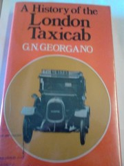 Cover of: A history of the London taxicab | G. N. Georgano