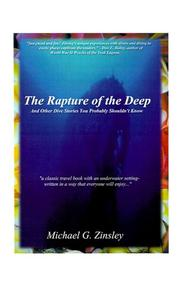 Cover of: The Rapture of the Deep | Michael Zinsley