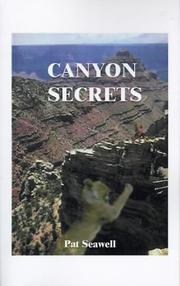 Cover of: Canyon Secrets | Pat Seawell