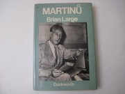 Cover of: Martinů | Brian Large