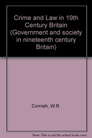 Cover of: Crime and law in nineteenth century Britain
